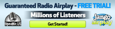 Get free airplay on Jango.com!